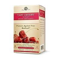 海外直送品Tart Cherry, 1000 mg, 90 V Caps by Solgar