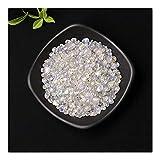 KUYIN Raro 50 g / 100 g de Cristal Natural Espécimen de Grava de Cristal Grava Decoración del hogar Color de Piedra para Acuario curativo energía Piedra Roca min (Color : Spectrolite, Size : 50g)