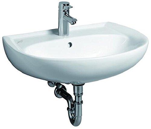 Keramag Renova Nr.1 Waschtisch 650x510mm mit Hahnloch und Überlauf