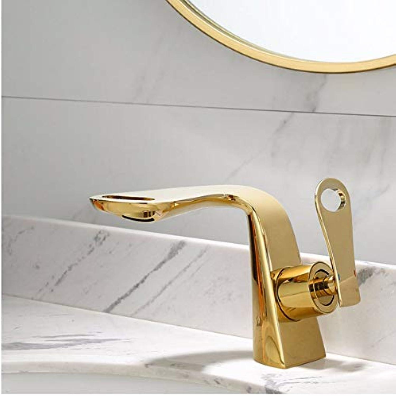 Waschtischarmaturen Insgesamt Messing Bad Wasserhahn Einhebelmischer Bad Gold Wasserhahn Waschbecken WasserChrom