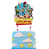 Decorations for Toy Story Cake Topper Birthday Party Supplies Decor