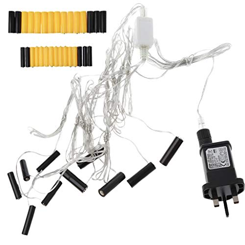 5 x AA + 5 x AAA batería eliminador adaptador de fuente de alimentación sustituye pilas AA AAA para Navidad LED luz Toy Walkie Talkie y más
