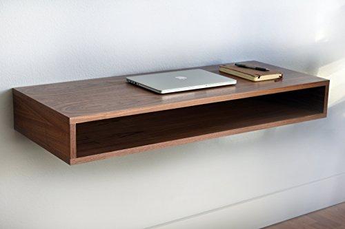 Walnut Floating Desk