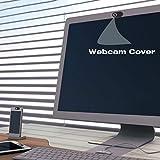 Sanzhileg S1 en Plastique Webcam Couverture Ultra-Mince Protection de la Vie Privée Caméra Obturateur Couvrant Autocollant pour Smartphone Tablet Ordinateur Portable de Bureau