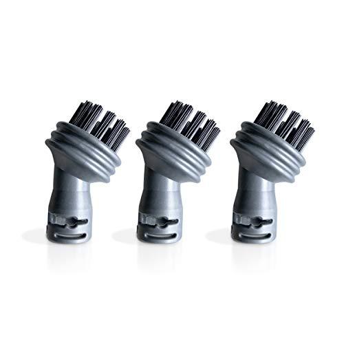 POLTI Kit 3 Nylon Round Brushes for Vaporetto Easy and Go