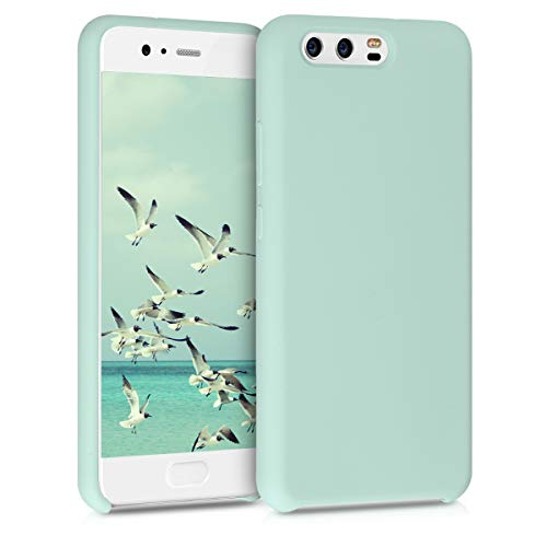 kwmobile Funda Compatible con Huawei P10 - Funda Carcasa de TPU para móvil - Cover Trasero en Menta Mate