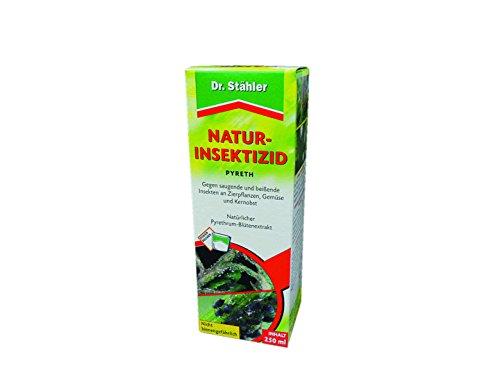 Dr. Stähler 044371 Biologisches Insektizid für Zierpflanzen, nicht Bienengefährlich, 250 ml