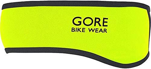 GOREWEAR ABIKHT089901 UNIVERSAL WS Stirnband neon Yellow/Black ONE Size Unisex Neon gelb/schwarz Einheitsgröße