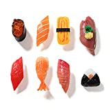 Hey Foly Cute Refrigerator Magnets Funny Magnets for Fridge, Simulation Sushi Refrigerator Magnet, Fine for Whiteboards, Maps and Home Decoration Magnetic Objects and Even Simulating Food Games!