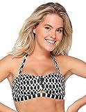 LingaDore 6101BB-248 Women's Black & White Striped Bikini Top 40