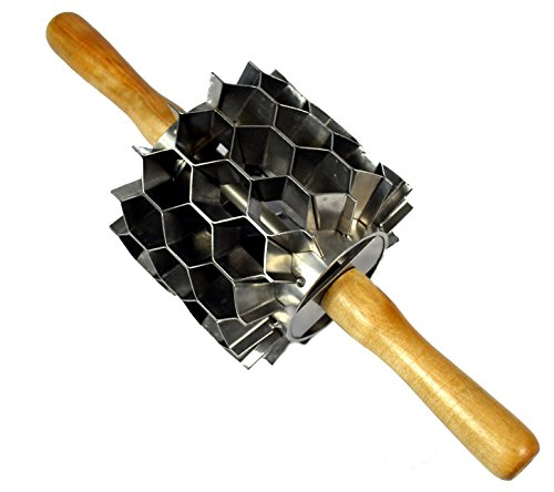 Stainless Steel Hex Cutter, 42 Cuts, Donut Holes, Biscuits, Crackers, Etc.
