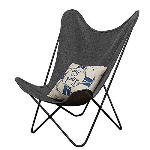Axdwfd Reclinables Tumbona, Silla Butterfly Home Lazy Couch Adecuado for balcón, Sala de Estar, Patio, Tumbona Plegable al Aire Libre