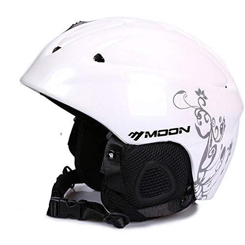 Skihelm, Snowboard Helm Verstelbare grootte met Afneembare Liner, Schokbestendig/Winddicht Beschermend Gear voor Skiën, Snowboarden, Motorfietsen en Sneeuwscooter