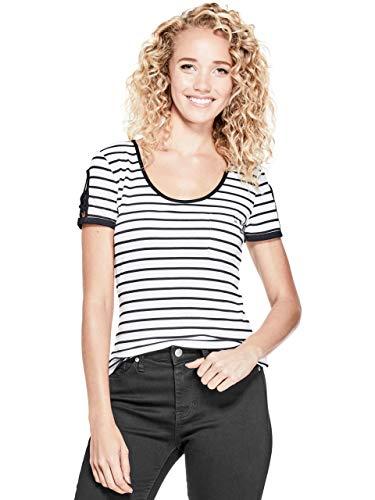 Guess Womens Striped Shirts