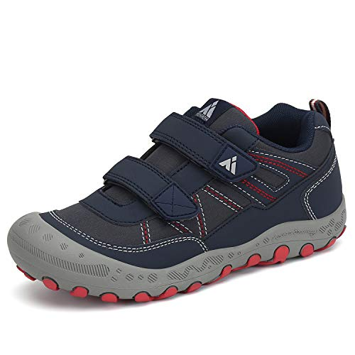 Mishansha Child Hiking Shoes Kids Trail Shoe Boys Outdoor Athletic Running Climbing Sneakers Blue Toddller 9.5