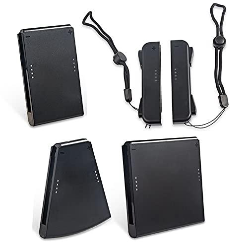 Portátil, video en la cámara, entretenimiento audiovisual Paquete de conectores de agarre para juegos NS 5 en 1 Luces de video portátiles en la cámara Juego de soporte para controlador de j
