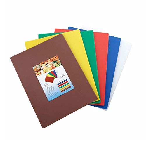 Cutting Board Set, 15-Inch by 20-Inch by 1/2-Inch, Assorted Colors