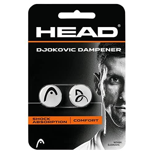 Head DJOKOVIC Antivibradores, Unisex-Adult, Blanco,...