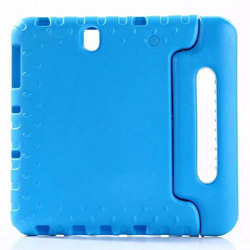 Schokbestendige Eva Tablet Case voor Samsung Galaxy Tab S3 9.7 T820 T825 SM-T820 Kinderhoes Cover Stand Tablet Shell Greep Funda blauw