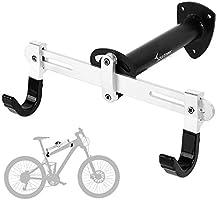 Sportneer Bike Wall Mount, Horizontal Metal Adjustable Bicycle Rack Holder Hook for Road Bike, Mountain Bike, Kids...