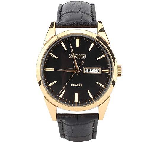 Reloj Impermeable,Relojes Hombre Acero Inoxidable Elegante Relojes Hombre Cronógrafo Impermeable Militar Deportivo Moda Resistente al Agua Reloj de Cuarzo Analógico Reloj de Caballero Reloj(#03)