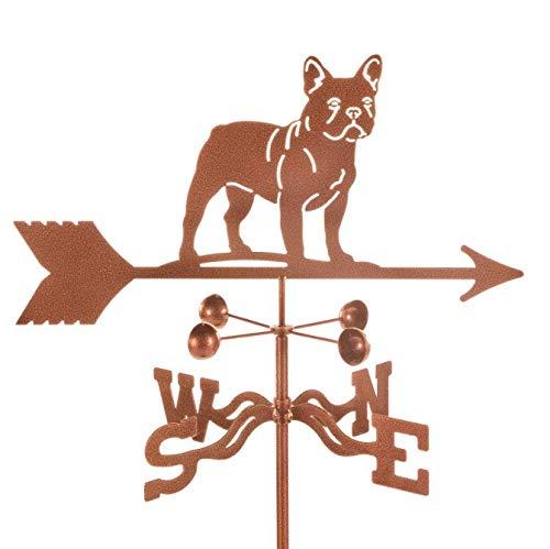 EZ Vane French Bulldog Weathervane 21 Inch Wide Garden Stake