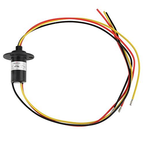Mini-Schleifring, Schleifring für Windgeneratoren mit 3 Drähten, 250 U/min, 600 VDC/VAC, Windenergiesammelring