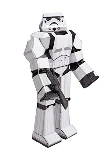 Jazwares 12914 - Blueprints Star Wars Papier Bastelset Stormtrooper, groß, 30 cm