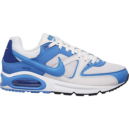 Nike Herren Air Max Command Men's Shoe Laufschuh, Platinum Tint/Pacific Blue, 44 EU