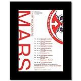 Mini-Poster 30 Seconds to Mars - UK Tour 2008, 28,5 x 21 cm