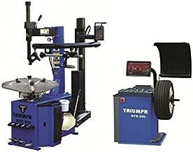 TRIUMPH NTC-950-1 NTB-550 Tire Changer Wheel Balancer Combo Package