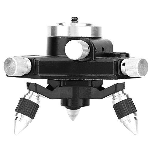 PBOHUZ Trípode de Nivel láser: Soporte de trípode de aleación de Aluminio estándar de 360 Grados con Rosca de 1/4'para Nivel láser