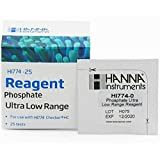 Hanna Instruments HI774-25 Phosphate Ultra Low Range Checker HC Reagents (25 Tests) by wwG Store