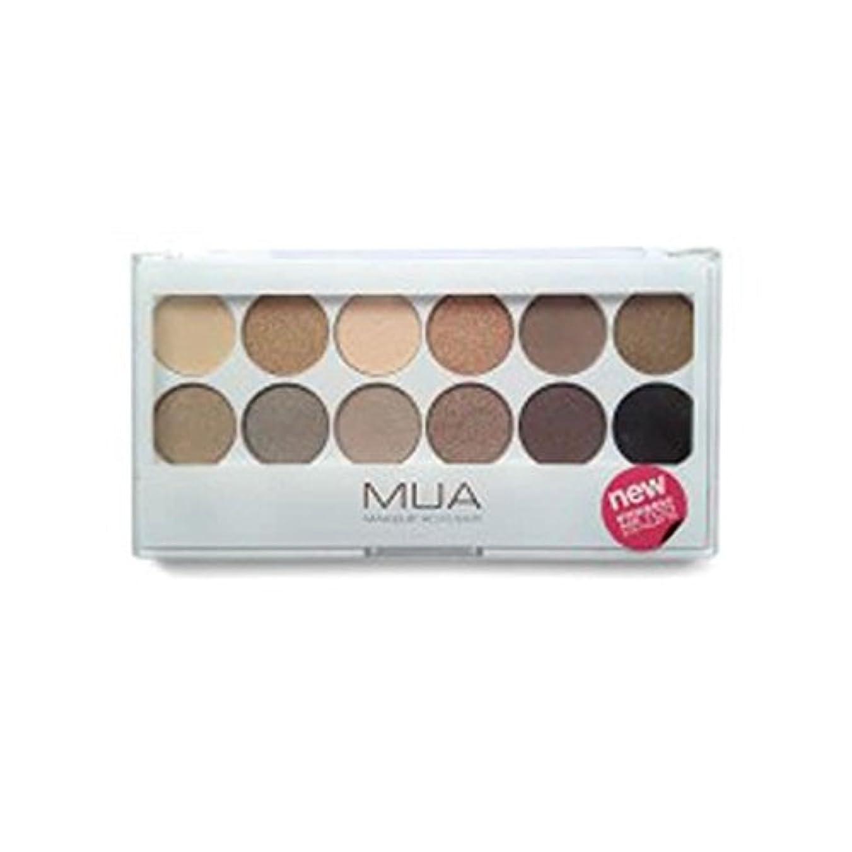 ご近所毎日のぞき見のアイシャドウパレット - 私も服を脱ぎ x4 - MUA Eyeshadow Palette - Undress Me Too (Pack of 4) [並行輸入品]