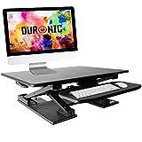 Duronic DM05D6 Estación de Trabajo para Monitor con Altura Ajustable de 11 a...
