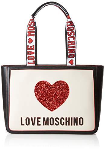 Love Moschino Nappa Pu Mix, Borsa a Mano Donna, Multicolore...