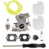 USPEEDA Carburetor Carb Kit for Poulan Pro PP4218A 18' 42CC Chainsaw Tune Up Kit