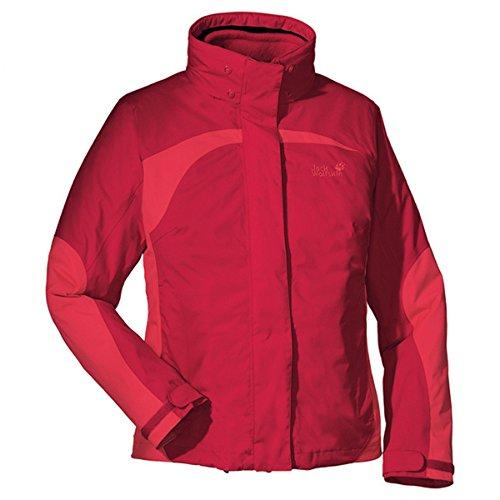 Jack Wolfskin Serpentine Jacket Women - Doppeljacke Damen [red Cherry/XL]