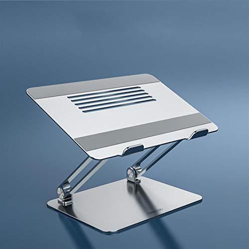 Xssbhsm Laptop computer Stand Aluminum Laptop Stand Foldable Free Lift Height/Anlge Adjustable Notebook Cooling Holder (Color : Sliver model 2)