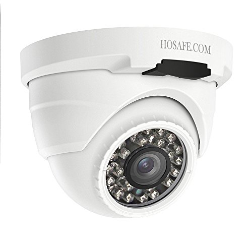 HOSAFE PoE Camera Outdoor 1080P Audio, visión