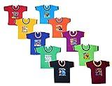 ISAKAA Baby Boys' T-Shirt (HFS5P1P2 Multicolored 3-4 Years)