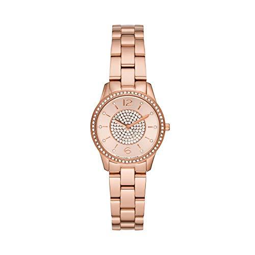 Michael Kors dames analoog kwarts horloge met roestvrij stalen armband MK6619