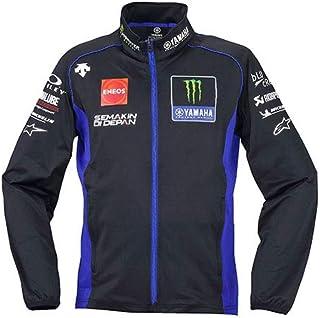 ヤマハ(Yamaha) スウェットジャケット MotoGP ヤマハ ファクトリーレーシング オフィシャルチームウェア デサント 2020年モデル ブルー×ブラック Oサイズ Q5D-YSK-750-00X