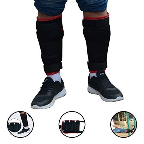 Loopbanden voor sterkte en sterkte voor mannen en vrouwen met gewichten, die aan het vest van de zandzak kunnen worden aangetrokken, de steekzakken voor gewichtsmanchetten blokkeren de plaat.