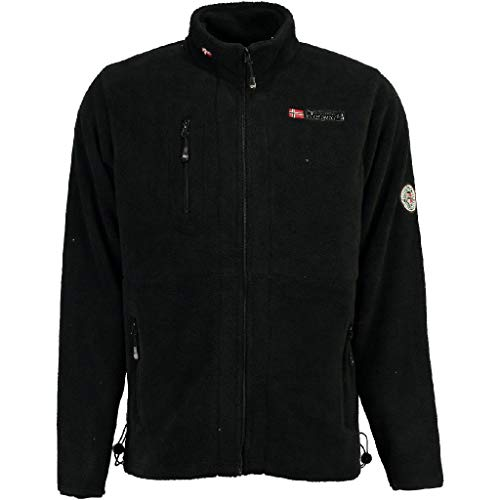Geographical Norway Polar Upload de Hombre, Negro, Talla L