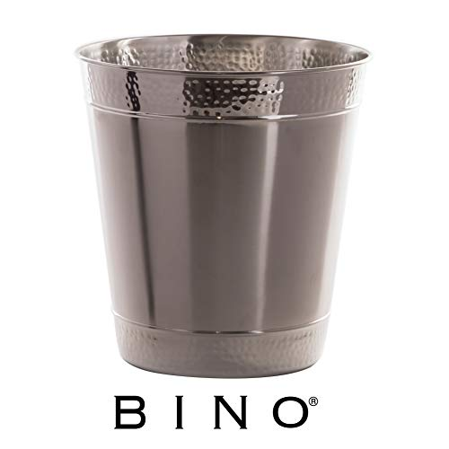 Bino Metal Waste Basket Bathroom Trash C Buy Online In Bahamas At Desertcart