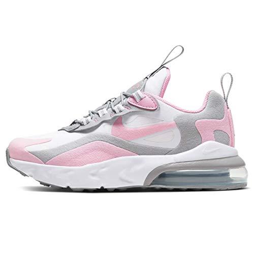 Nike - Empeine de tela rosa/gris con sistema Air visible. Blanco Size: 31 EU
