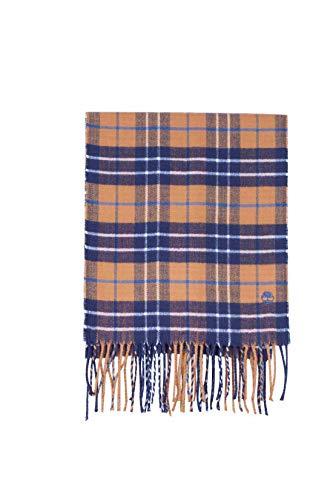 TIMBERLAND - Men's wheat tartan scarf