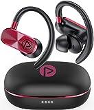 PISEN Bluetooth Kopfhörer, Kopfhörer Sport Kabellos In Ear Ohrhörer Bluetooth 5.0 Sportkopfhörer...