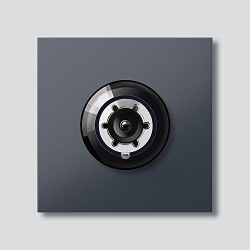 Siedle&Söhne Bus-Kamera 180° BCM 658-01 AG anthrazitgrau In-Home-Bus Funktionsmodul für Türkommunikation 4056138000265